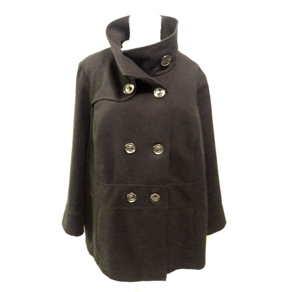 George Jackets & Blazers - George Double Breasted Peacoat
